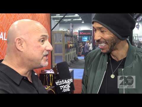 2017 NAMM:  Dug Pinnick (King's X, KXM) Interview