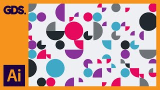 Patterns in Adobe Illustrator Ep5/15 [Multimedia design course - Print]