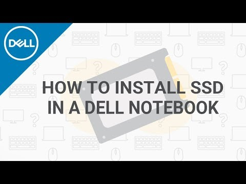 How To Install SSD In DELL Laptop (Official Dell Tech Support)