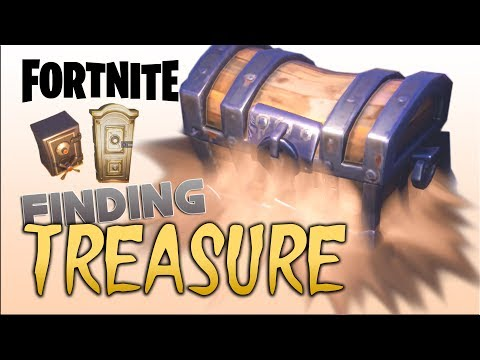 FORTNITE - How to find Treasure Chests and Safes