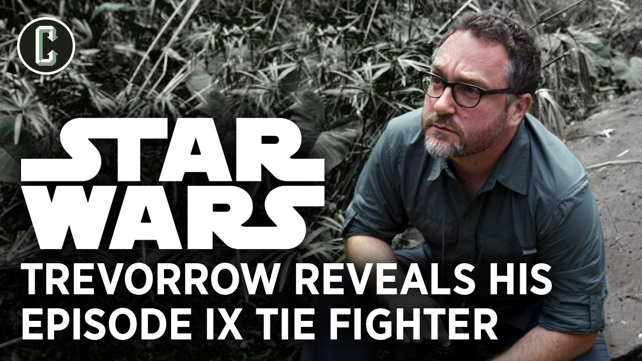 Star Wars 9: Colin Trevorrow Reveals TIE Marauder Ship from His Version of Episode 9