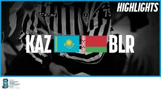 Kazakhstan vs. Belarus | Highlights | 2019 IIHF Ice Hockey World Championship Division I Group A