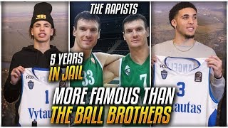 The TWINS More FAMOUS Than The BALL BROTHERS In Lithuania!