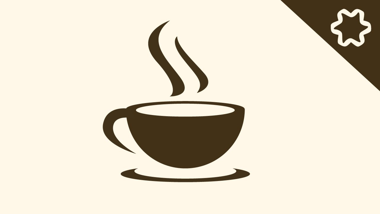 logo design illustrator tutorial simple coffee cafe shop. Black Bedroom Furniture Sets. Home Design Ideas
