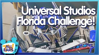 Can You Ride Everything in Universal Studios Florida the Hard Way?