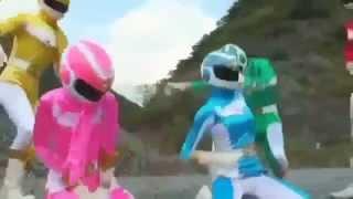Phim hoạt hình siêu nhân - Siêu nhân gao - Siêu nhân khủng long sấm sét - Siêu nhân bị nứng