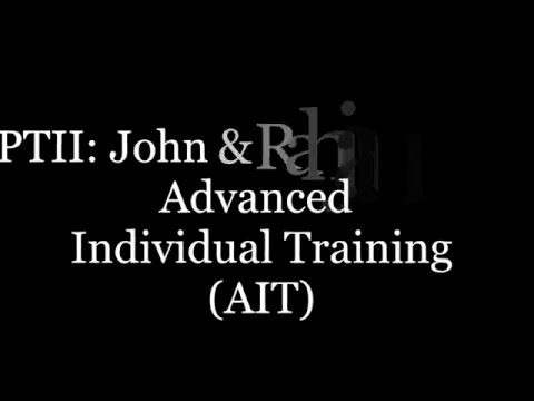 Advance Individual Training (AIT)- John & Rahjanni Iusi (Part II)