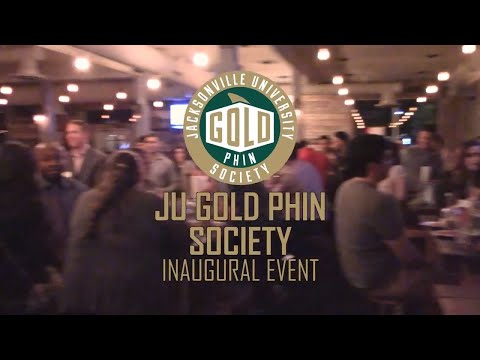 Jacksonville University GOLD Phin Society Inaugural Event