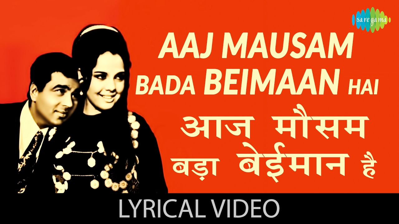 aaj mausam bada beimaan hai song free download