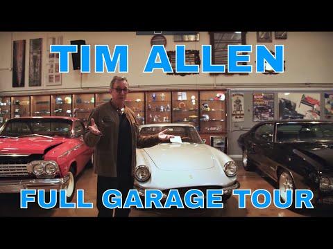 TIM ALLEN'S ENTIRE CAR COLLECTION | CELEBRITY GARAGE TOUR PT. 1