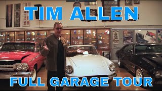 TIM ALLEN'S ENTIRE CAR COLLECTION | CELEBRITY GARAGE TOUR PT. 1