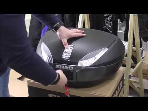 Кофр багажный SHAD SH-48, 48 литров (2 шлема)