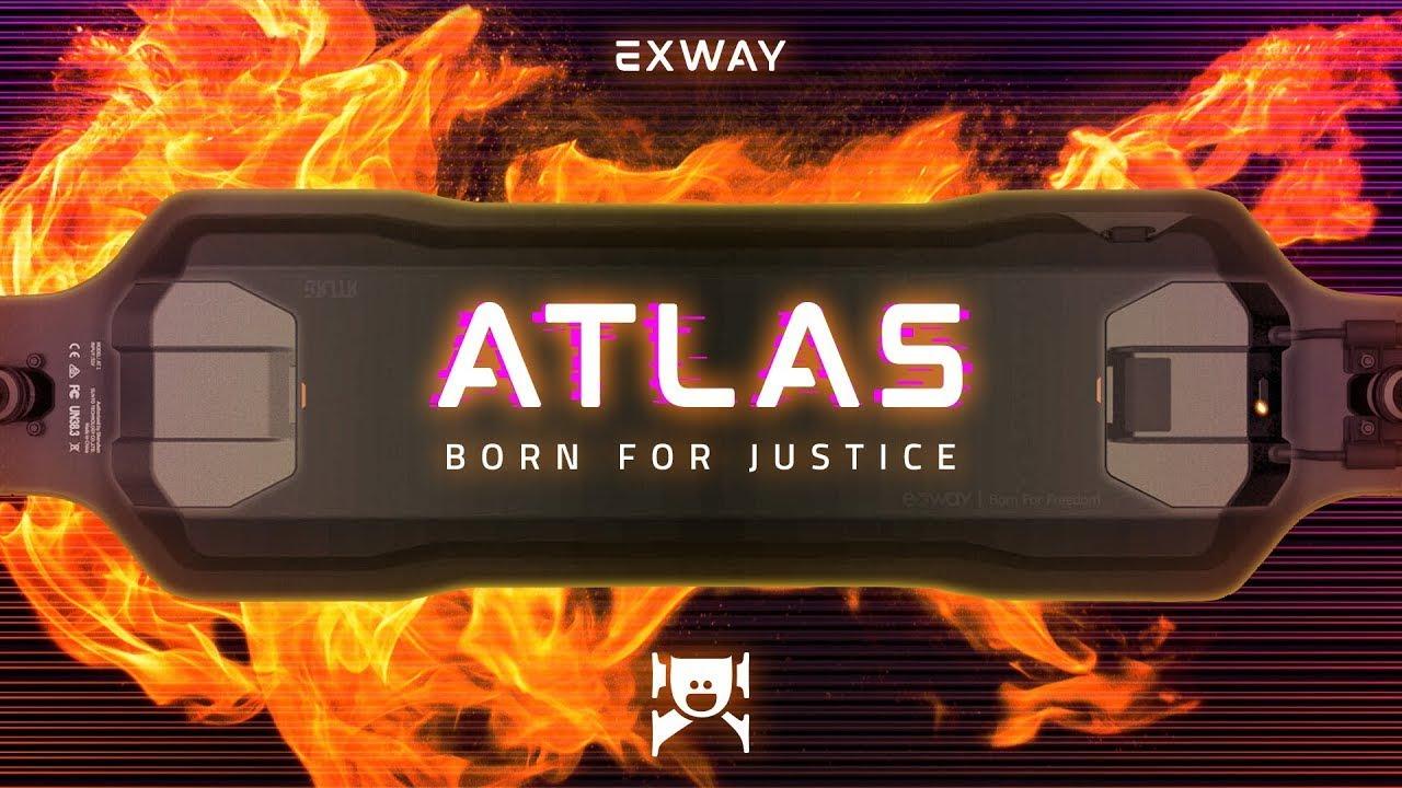 Exway Atlas – Origin Story of A Masterpiece Electric Skateboard