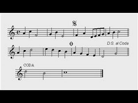 Classical Guitar Lessons : What Does D.S. Stand for in Sheet Music?