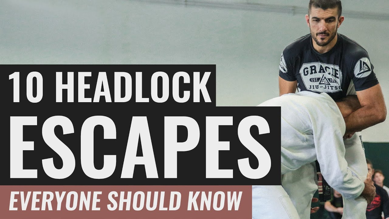 10 Headlock Escapes EVERYONE Should Know