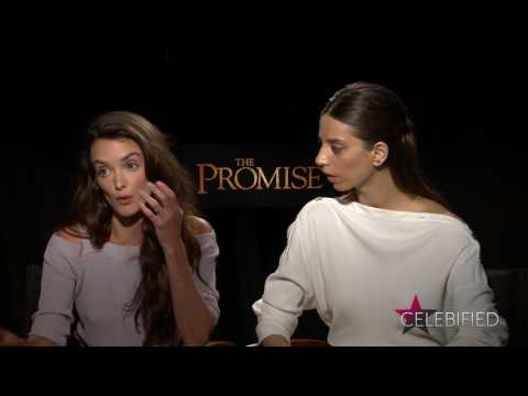 Exclusive : Charlotte Le Bon and Angela Sarafyan Talk THE PROMISE