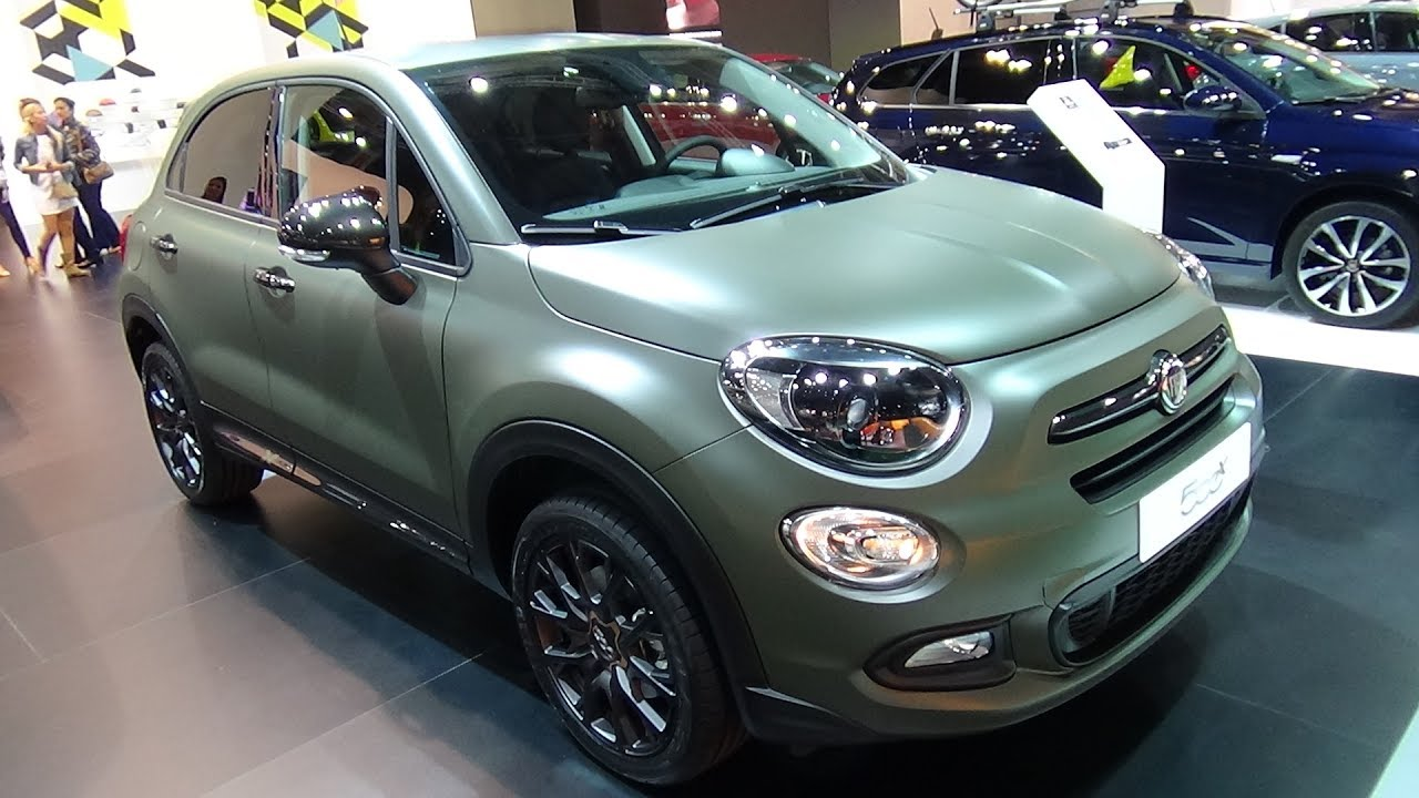 2017 fiat 500x 1 4 multiair s design exterior and interior automobile barcelona 2017 youtube. Black Bedroom Furniture Sets. Home Design Ideas