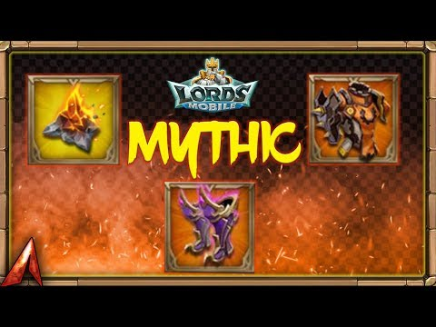 Taking My Gear To MYTHIC! Lords Mobile