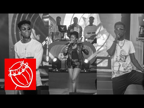The Lynx Family told a love story on stage at the Ghana DJ Awards 2018 | Ghana Music