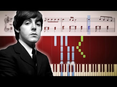 The Beatles - Let It Be - Piano Tutorial + SHEETS  tbt