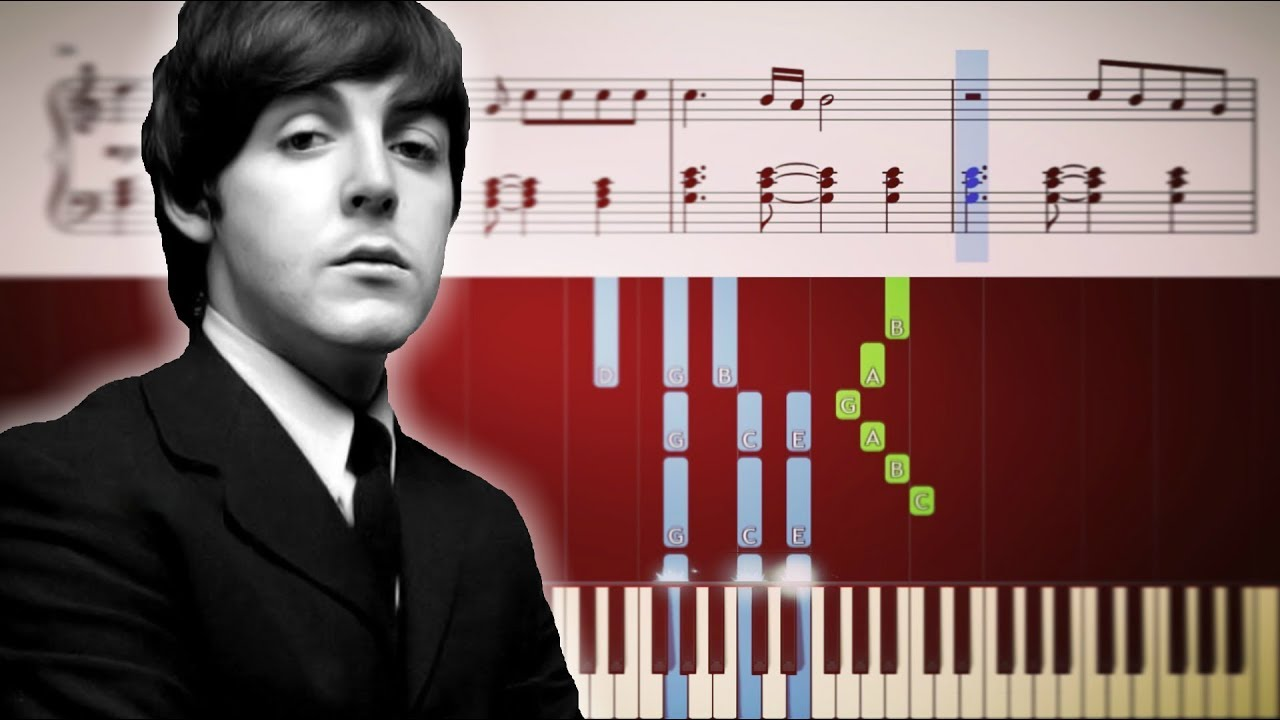 The Beatles - Let It Be - Piano Tutorial + SHEETS | #tbt