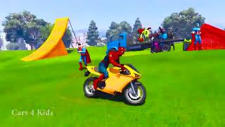Video Animasi Kartun Anak MOBIL TRUK pengangkut motor spiderman lagullagu anak film kartun mobil anak download MP3, 3GP, MP4, WEBM, AVI, FLV Oktober 2018