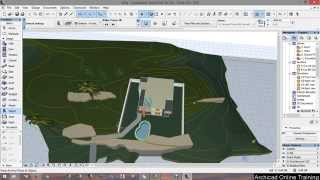 12 - Making the evironnement - Archicad 18 tutorial from A to Z