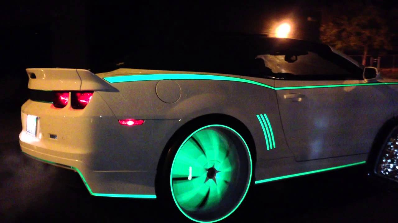 Glow In The Dark Rc Car Paint