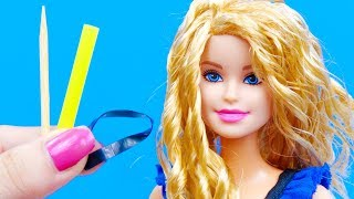 10 Barbie Doll Hairstyles | How To Make Barbie Hairstyles