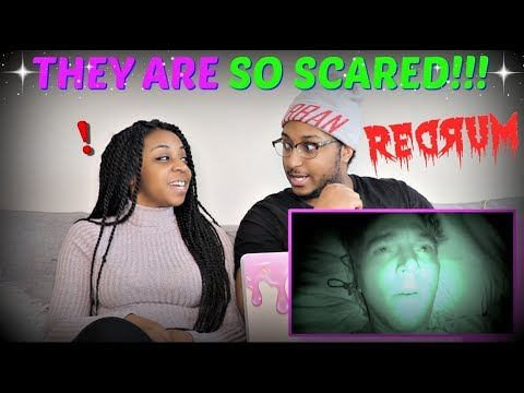 """Shane Dawson """"24 HOURS OVERNIGHT IN A HAUNTED HOTEL"""" REACTION!!!"""