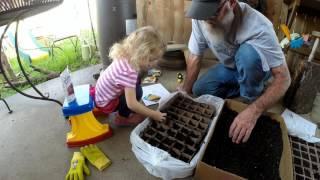 PAPA's Garden #2 How to start seeds
