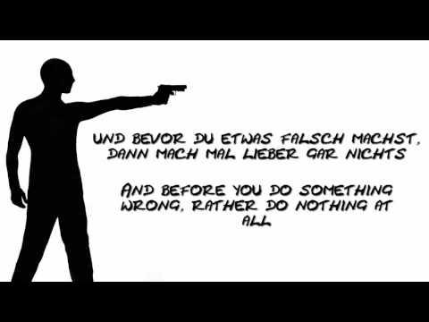 Kraftklub ~ Schüsse in die Luft + English translation (Lyrics) [FullHD]