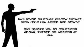 Kraftklub ~ Schüsse in die Luft English translation (Lyrics)