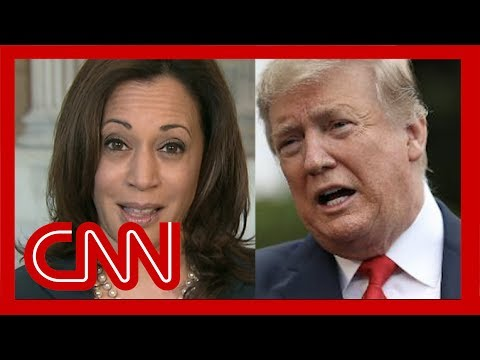 Trump mocked Kamala Harris on Twitter. She hit back