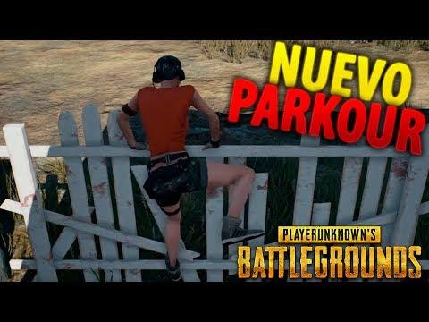 PROBANDO EL PARKOUR EN EXCLUSIVA PLAYERUNKNOWN'S BATTLEGROUNDS ESPAÑOL (PUBG)