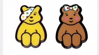Children In Need 2016 - Pudsey & Blush Photos Together