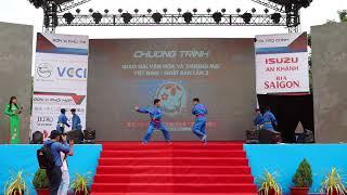 biểu diễn vovinam ngày hội giao lưu văn hóa Việt-Nhật Cần Thơ