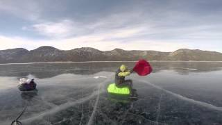 Байкал на коньках. Март 2015.