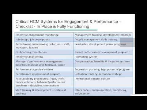 SBBN Webinar: Impact of Strategic Human Capital Management on Business Performance