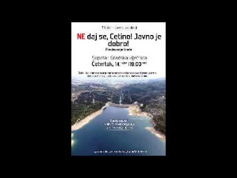 Nedaj se Cetino! - Radio Brač 12.9.2017. - JAVNO JE DOBRO, ZaNaS