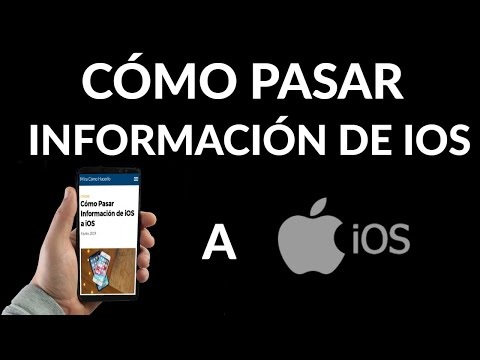 Cómo Pasar Información Entre tus Dispositivos iOS