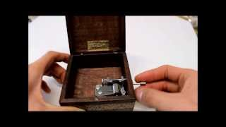 Fur Elise Music Box - hand made music jewelry box, engraved with name