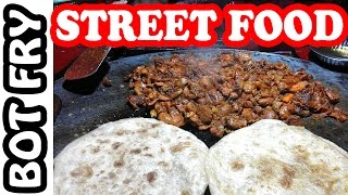 Indian Street Food - Bot Fry | Street Vendors Selling Foods | Indian Cooking | Street Food of India