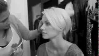 Badgley Mischka FW13 featuring Franziska Knuppe - Behind the Scenes
