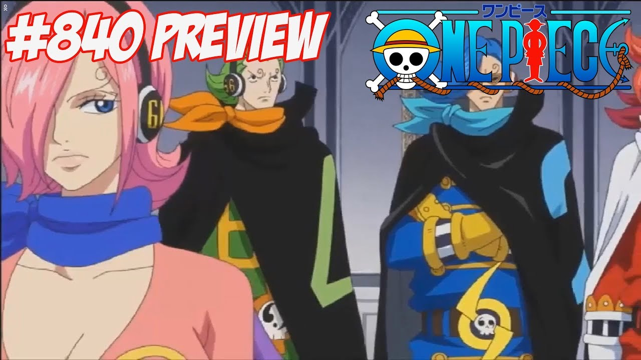 One Piece Episode 840 preview HD