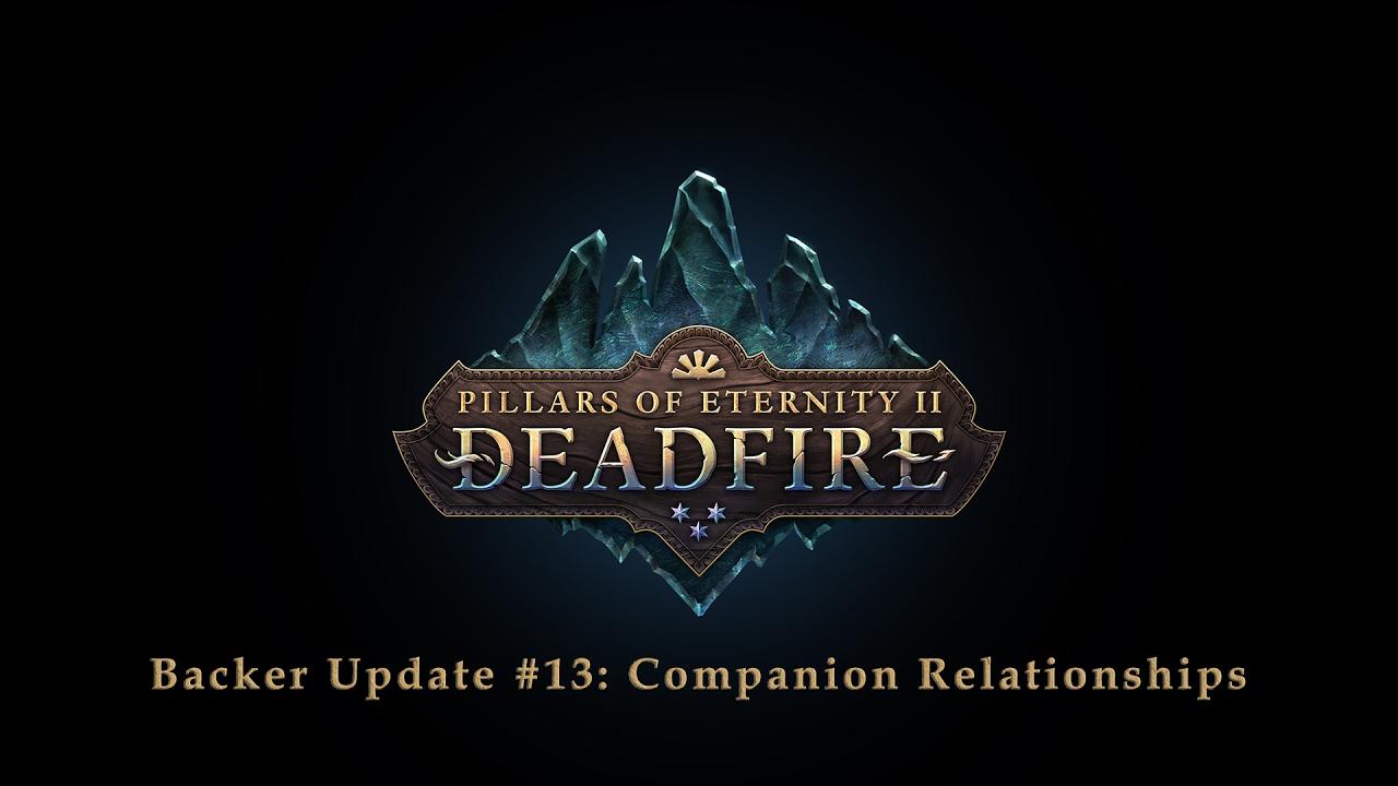 Pillars of Eternity II: Deadfire: Update #13 - All About