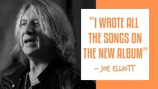 Joe Elliott wrote all the songs on new Down 'n' Outz album
