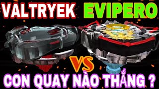 BEYBLADE   VГ'NG XOAY THбє¦N Tб»ђC VALTRYEK VS EV PERO E2 BEYBLADE BURST EVOLUT ON GAME CON QUAY B N  TV