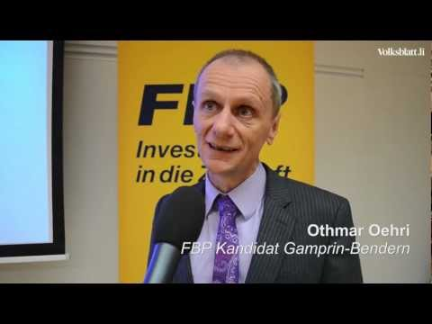 FBP Nomination Gamprin-Bendern