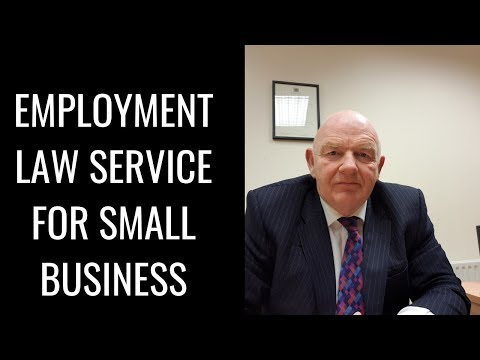 Employment Law/HR Services for Small and Medium Employers